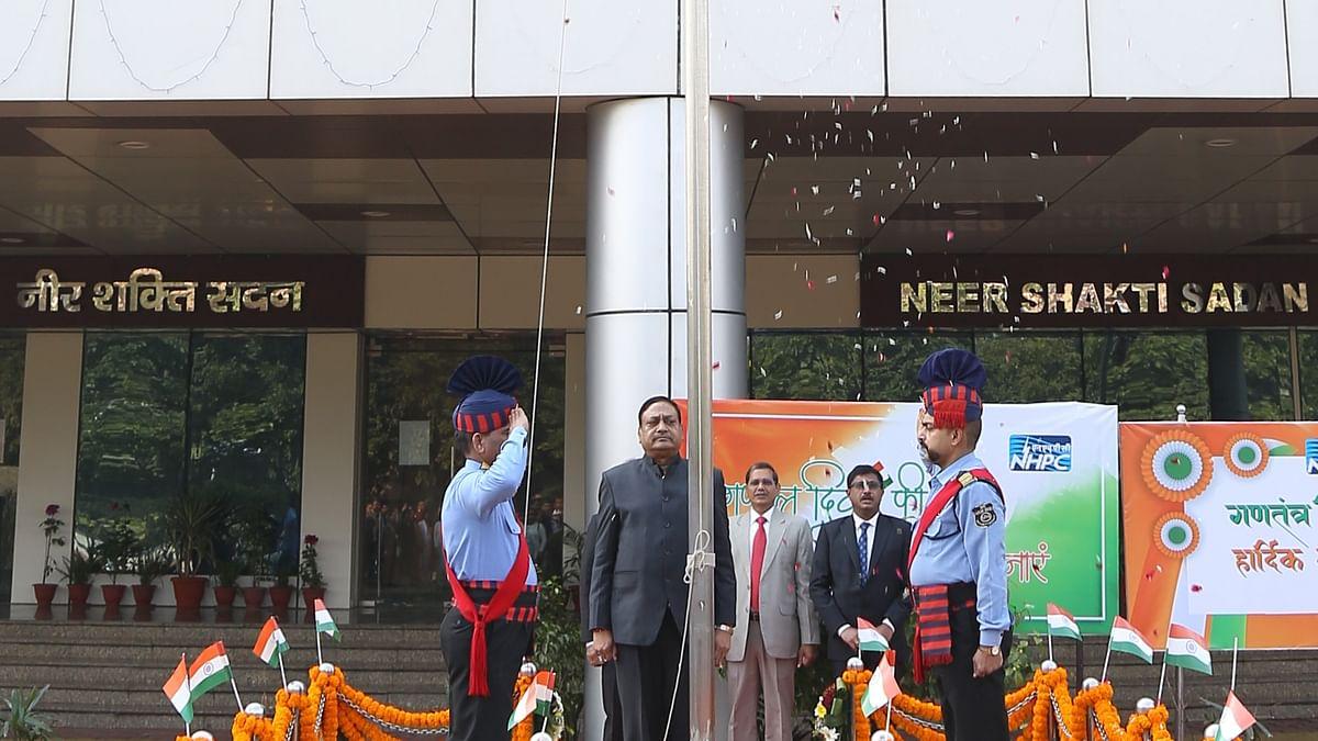 NHPC celebrates 71st Republic Day