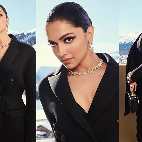 Deepika Padukone's all-black outfit comes with a mammoth price tag of Rs 4 lakh!