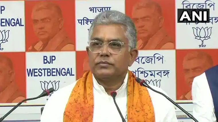 BJP West Bengal president Dilip Ghosh