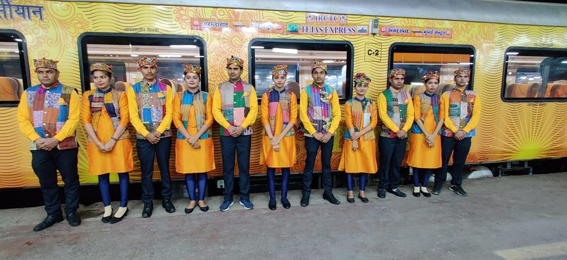 IRCTC launches its 2nd premium Tejas train on Ahmedabad-Mumbai route