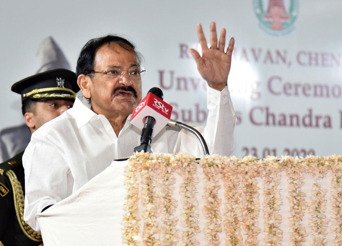Patel, Savarkar not accorded due recognition: M. Venkaiah Naidu