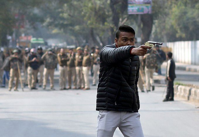 Jamia shooter found as class XI student