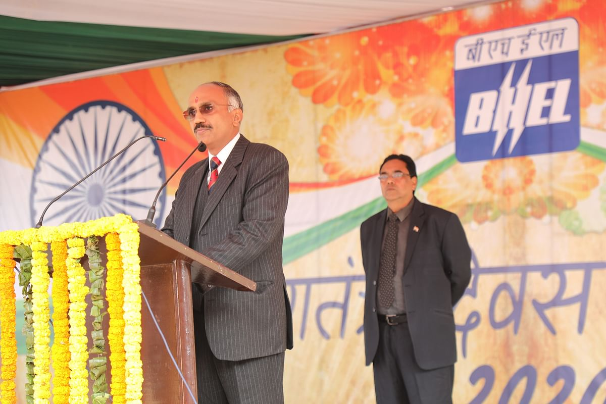 BHEL celebrates 71st Republic Day with fervour