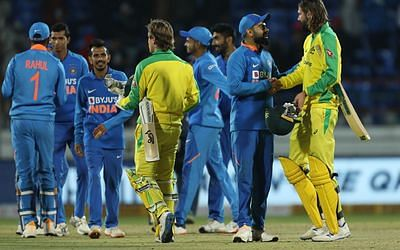 India level three-match ODI series 1-1