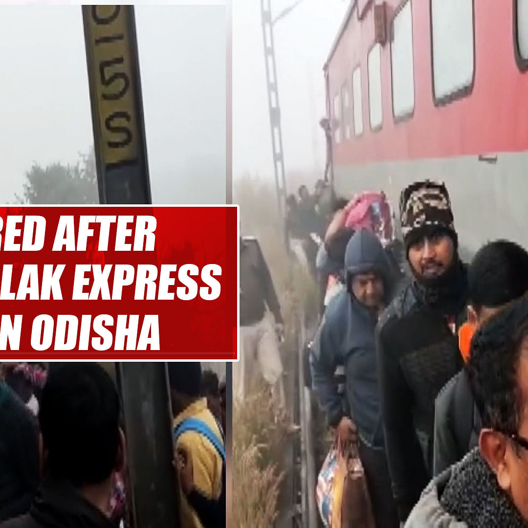 20 injured after Lokmanya Tilak Express derails in Odisha's Cuttack