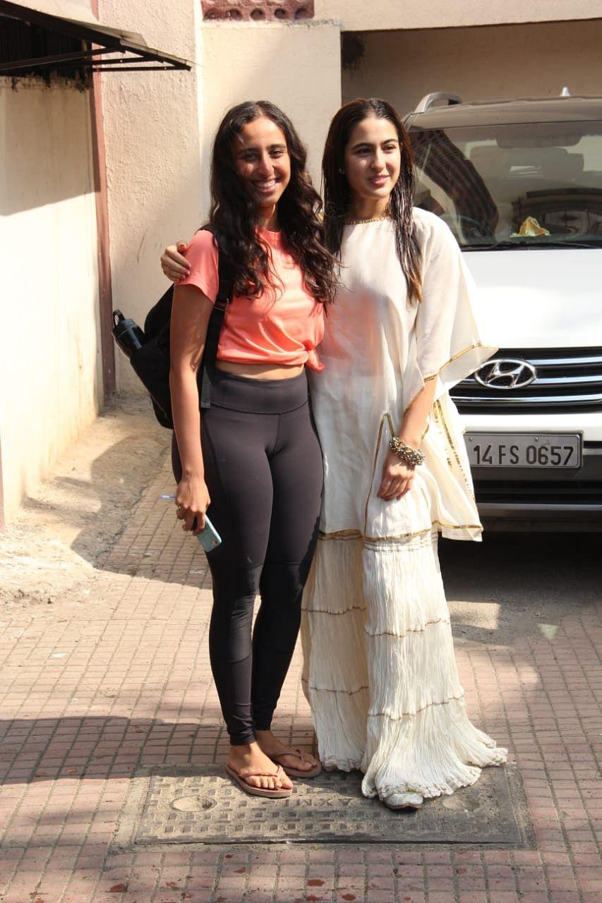 Sara Ali Khan with a friend