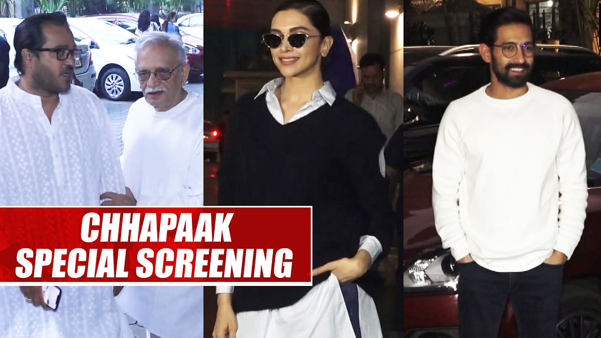 'Chhapaak' cast attend film screening