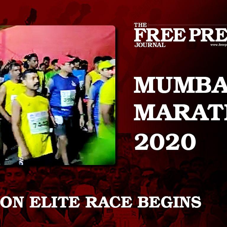 Mumbai Marathon 2020: Marathon Elite race begins