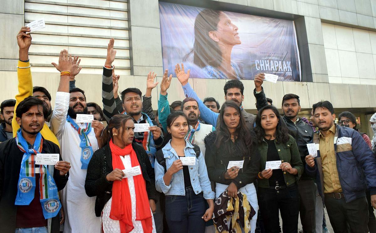 Bhopal: Deepika starrer 'Chhapaak' hits screens amidst heavy security
