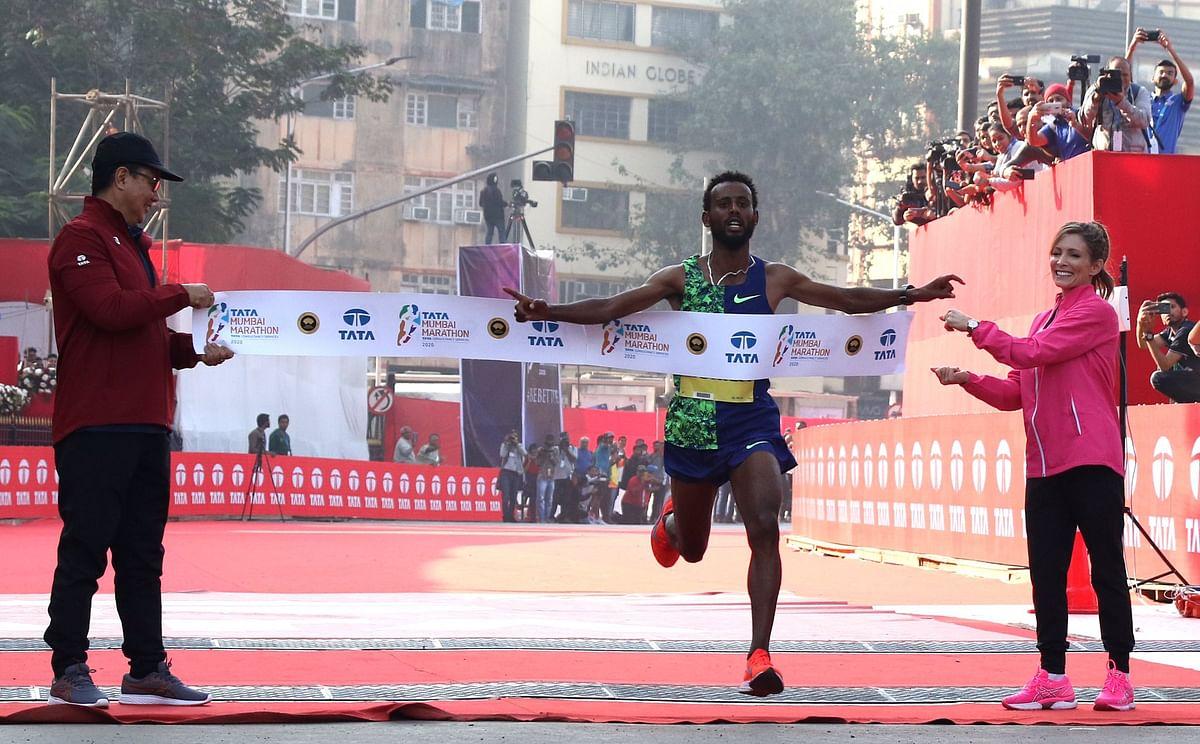 TATA Mumbai Marathon 2020: Ethiopian Derara Hurisa creates course record
