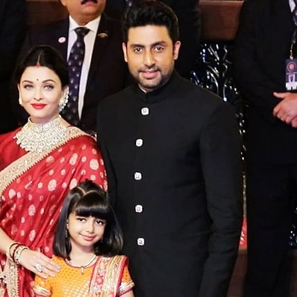 'One more junior Bachchan on the way?': Abhishek's tweet leaves fans speculating if Aishwarya is pregnant
