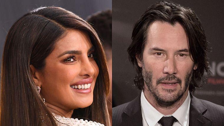 Priyanka Chopra joins the cast of 'Matrix 4' starring Keanu Reeves