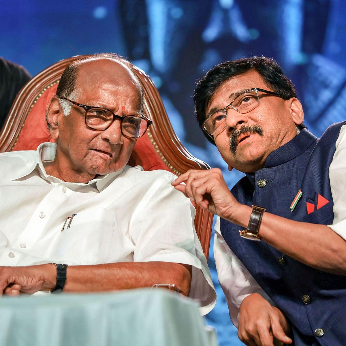 Shiv Sena MP Sanjay Raut meets Sharad Pawar, says NCP chief praised Uddhav Thackeray