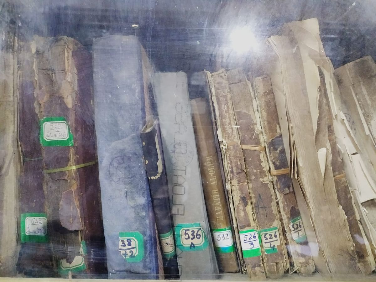 Bhopal: Rare books in ruins at Central Library