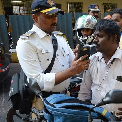 Coronavirus updates in Mumbai: Traffic cops to substitute breathanalyser checks with blood tests