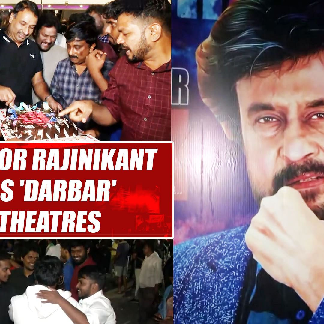 Festival for Rajinikanth fans as 'Darbar' hits theatres