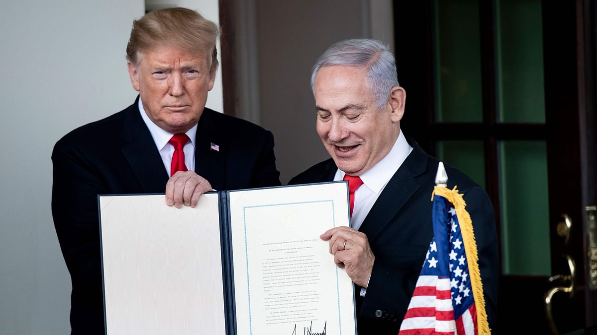 Trump unveils Israel-Palestinian peace plan