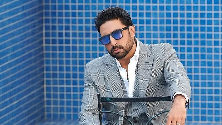 Abhishek Bachchan shares glimpse of his late night walk in hospital while undergoing COVID-19 treatment