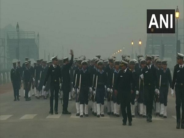 Rehearsal for Republic-Day parade in full swing at Rajpath