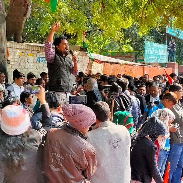 Anti-CAA protest: Thousands gather at Jantar Mantar