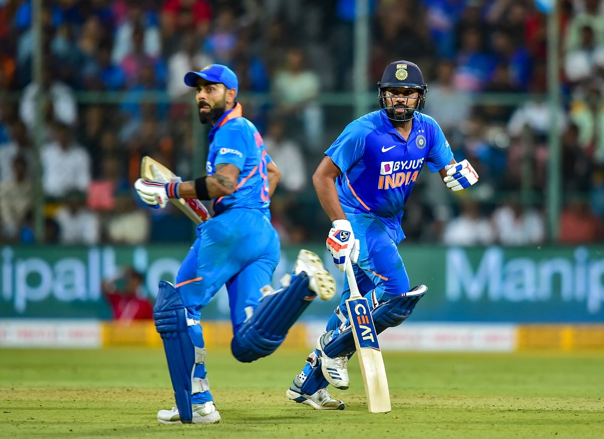 Rohit, Kohli guides India to series win over Australia