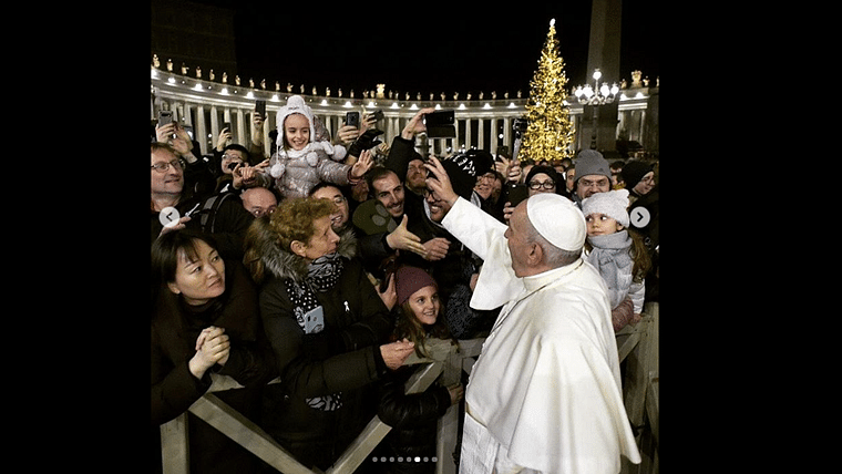 Watch: Pope Francis swats at woman who caught hold of his arm; apologises later