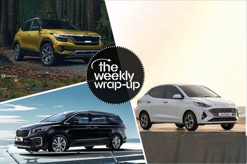 Top 5 Car News Of The Week: Hyundai Aura, Mahindra Thar 2020, Auto Expo Lineups And Latest Spy Shots