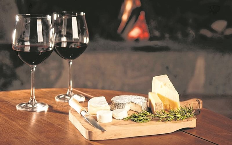 Say cheese and (and wine!)