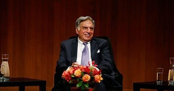 83-year-old industrialist Ratan Tata takes first COVID-19 vaccine shot - Free Press Journal