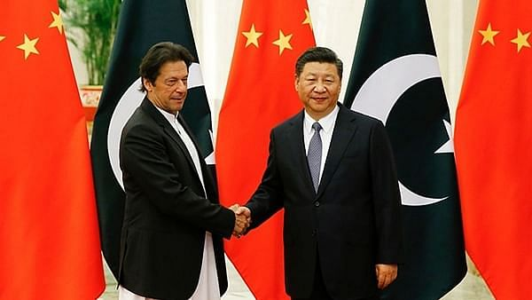 Pak PM Imran Khan and Chinese President Xi Jinping