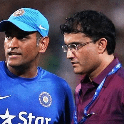 'End of an era': Sourav Ganguly's tribute to MS Dhoni