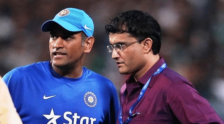 'Can't comment on this': Sourav Ganguly refuses to discuss MS Dhoni's exclusion from BCCI contract