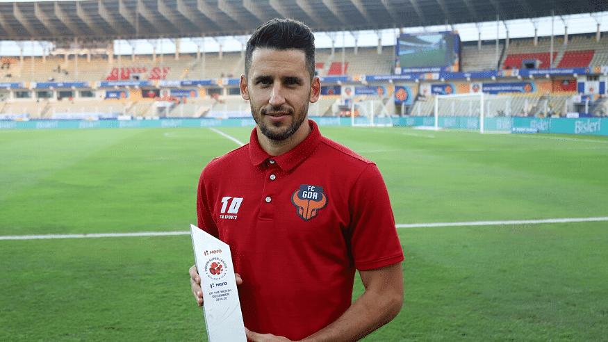 FC Goa's Ferran Corominas wins ISL Hero of the Month Award for December 2019