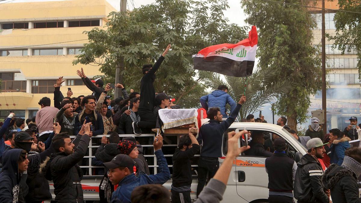 Iraq anti-govt protests: Ten dead in 24 hrs