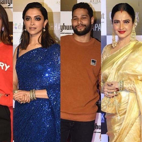 From Rekha to Anurag Kashyap: B-town celebs attend Deepika's 'Chhapaak' premiere