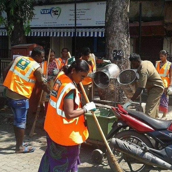Redevelopment project in Bandra for municipal sweepers