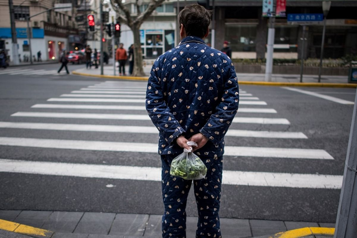 Public pyjama wearers shamed in China