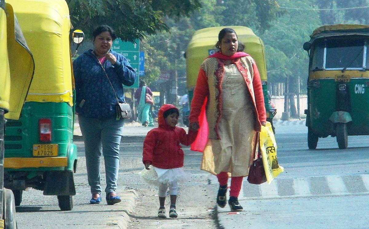 Indore: Day temperature drops after day's gap