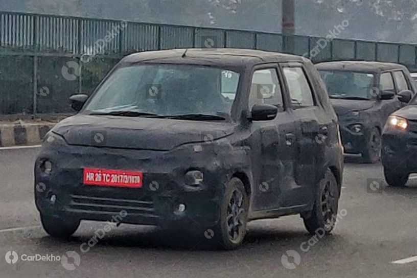 Maruti XL5 Spied testing again; expected to debut at Auto Expo 2020