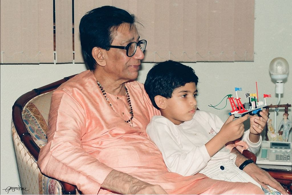 Aaditya Thackeray's throwback picture with grandfather Balasaheb is the cutest thing on Internet today