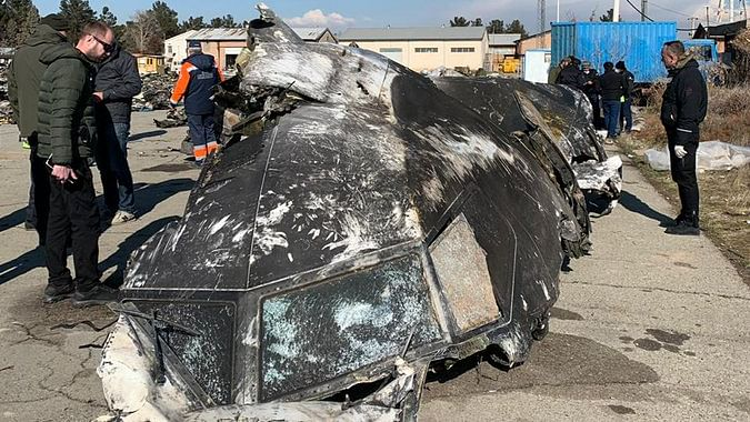 Ukraine jet shot down, Iran braces for protests