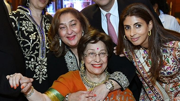 Shweta Bachchan's mother-in-law Ritu Nanda passes away