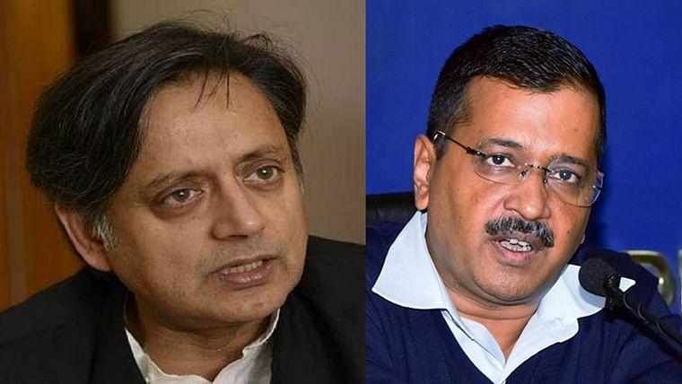 Shashi Tharoor sheepishly apologies for calling Arvind Kejriwal an 'eunuch'