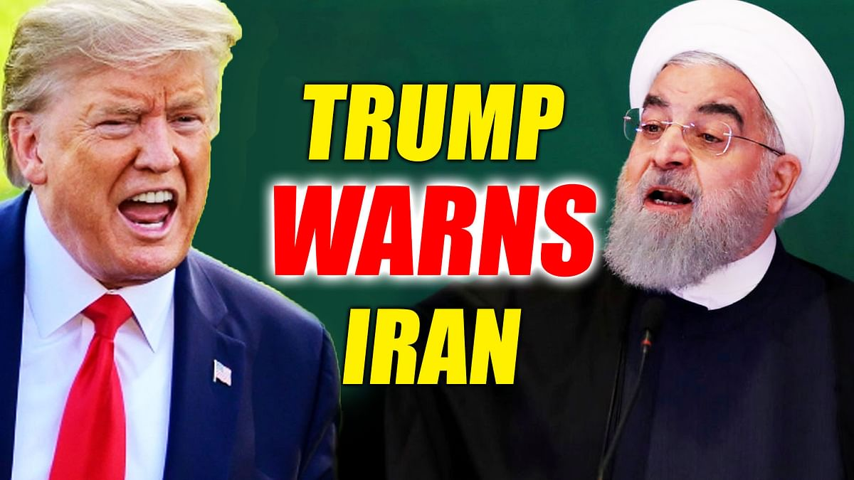 'No nuclear weapons and don't kill your protesters': Donald Trump warns Iran