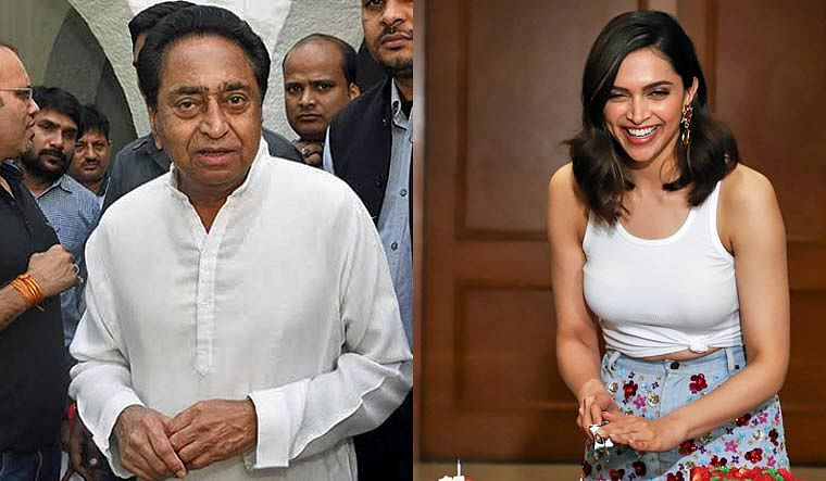 Bhopal: Kamal Nath tax relief to Deepika's Chhapaak;  BJP calls it 'useless'