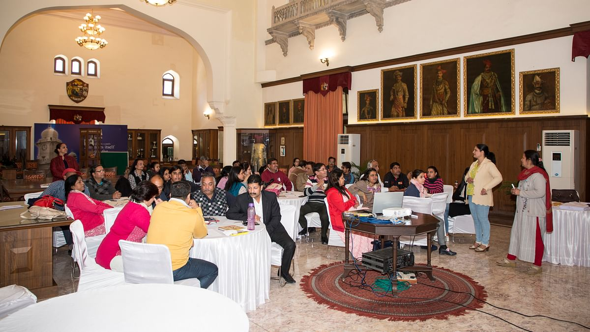 Indore: Teachers learn calming techniques in anger management workshop at Daly College