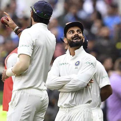 'Hamein toh pata hi nahi tha': Captain Virat Kohli trolls Ishant Sharma with a cheeky comment