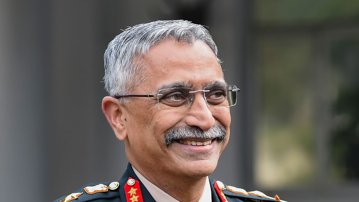 New Army Chief General Manoj Mukund Naravane during an intervew with PTI, in New Delhi, Tuesday, Dec. 31, 2019.