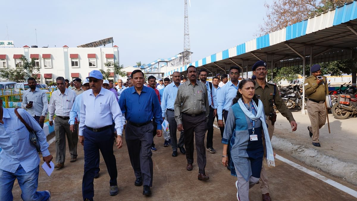 GM, SWR, conducts statutory annual inspection on Chikjajur-Hassan Broad Gauge Section of Mysuru Division