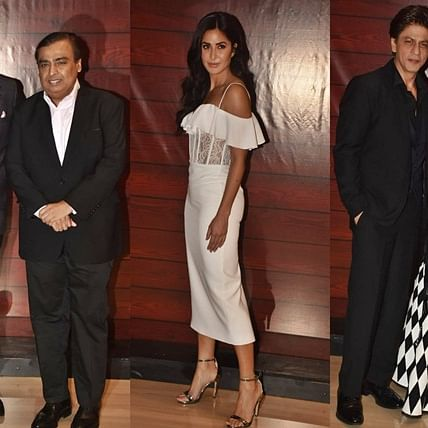 From Mukesh Ambani to Shah Rukh Khan: Javed Akhtar's 75th birthday bash was a star-studded affair; see pics